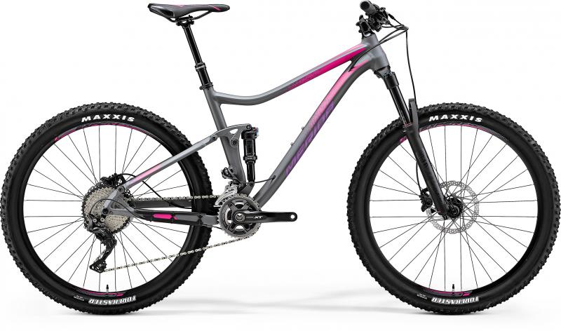 Merida ONE-TWENTY XT-EDITION JULIET - 27.5 - grau (pink) S