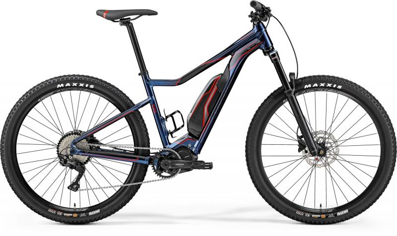 Merida eBIG.TRAIL 500 - 27.5 -  METALLIC BLUE/BLACK(RED) 2019