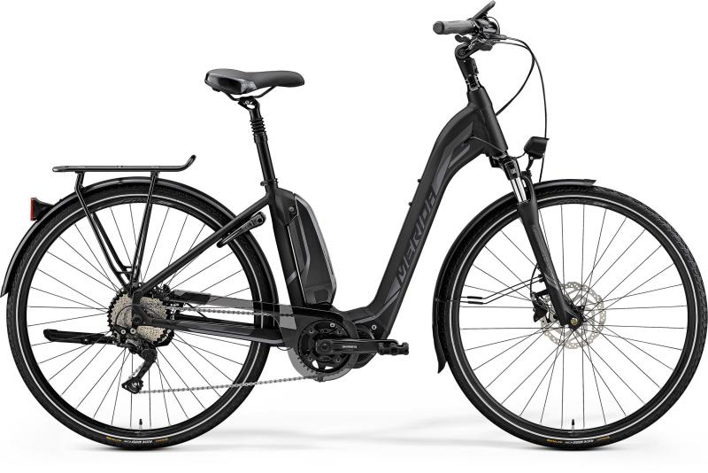 Merida eSPRESSO CITY 600 EQ - 28 -  MATT BLACK(SHINY ANTHRACITE) 2019