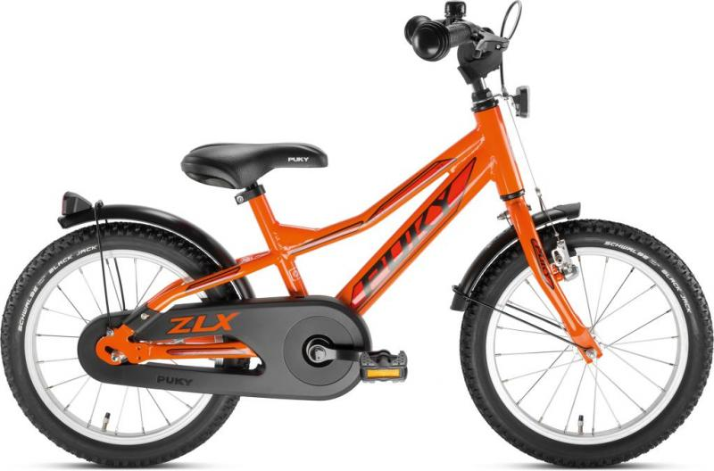 Puky ZLX 16-1 Alu Racing Orange 2019 U