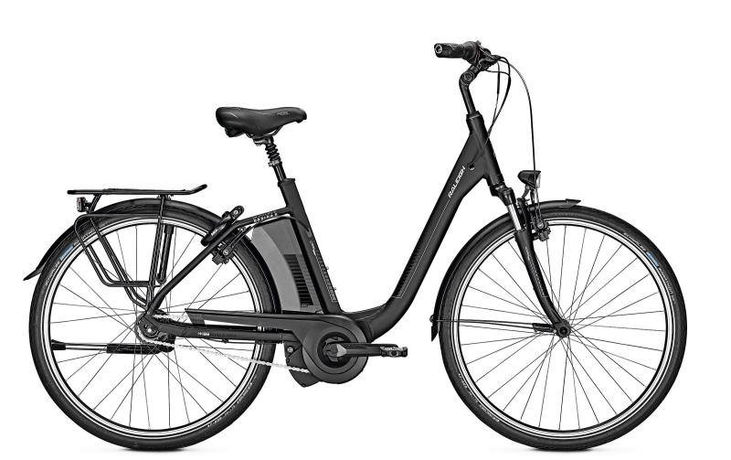 Raleigh BOSTON 8 - 26 Comfort Freilauf  474 Wh -  magicblack matt 2019
