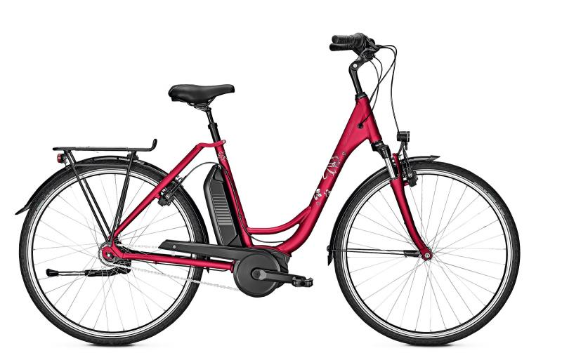 Raleigh JERSEY EDITION - 28 Wave Freilauf  400 Wh -  rubyred matt 2019