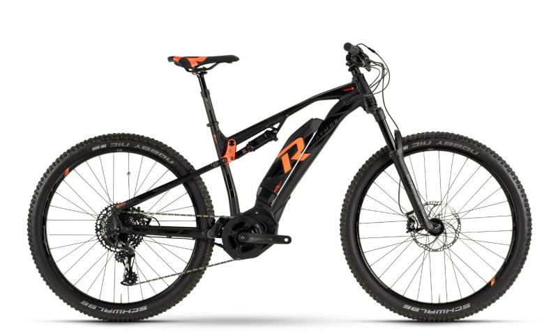 Raymon E-Nine TrailRay 9.0 - MTB Full Suspension 29 -  black/orange 2019