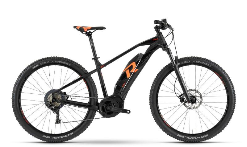 Raymon E-Nineray 7.0 - MTB Hardtail 29 - black/orange L