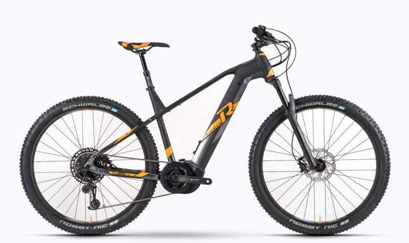 Raymon E-Nineray 9.0 - MTB Hardtail 29 -  black/orange/dark grey 2019