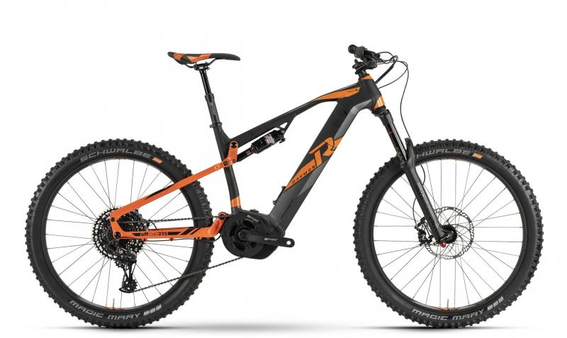Raymon E-Seven TrailRay 11.0 - MTB Full Suspension 27,5 -  black/orange/dark grey 2019