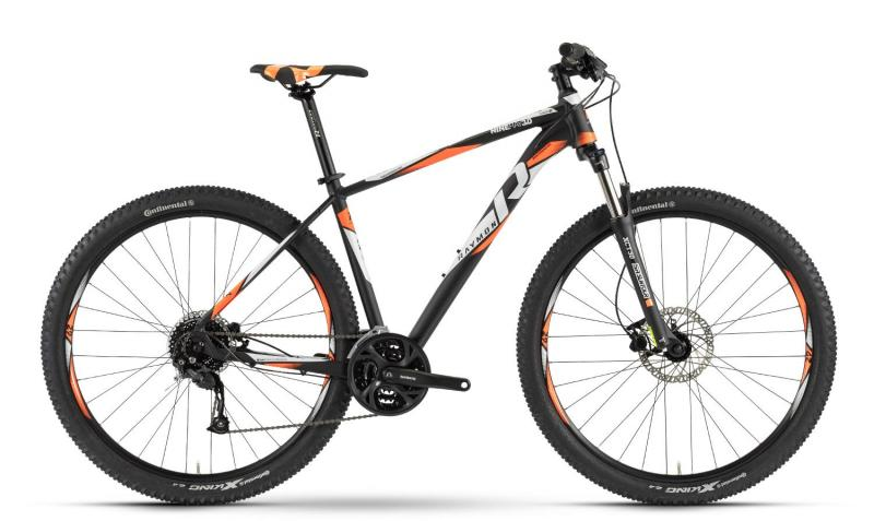 Raymon Nineray 3.0 - MTB Hardtail 29 -  black/orange/white 2019