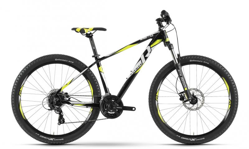 Raymon Sevenray 2.0 - MTB Hardtail 27,5 -  black/white/yellow 2019