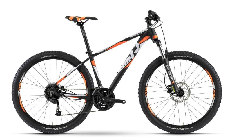 Raymon Sevenray 3.0 - MTB Hardtail 27,5 -  black/orange/white 2019