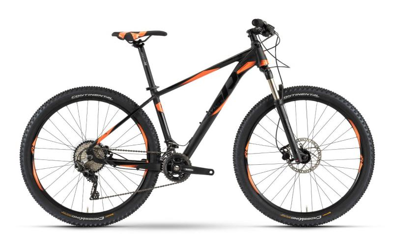 Raymon Sevenray 5.0 - MTB Hardtail 27,5 -  black/orange/black 2019
