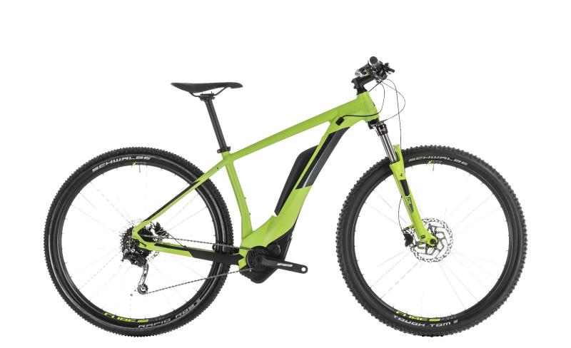 Cube Reaction Hybrid ONE 500 - MTB 27,5 - green´n´iridium 18