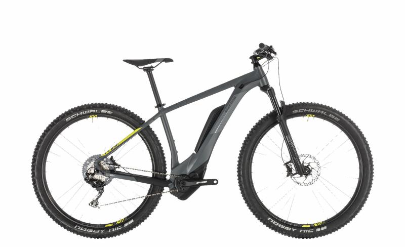 Cube Reaction Hybrid Race 500 - MTB 27,5 - grey´n´lime 18