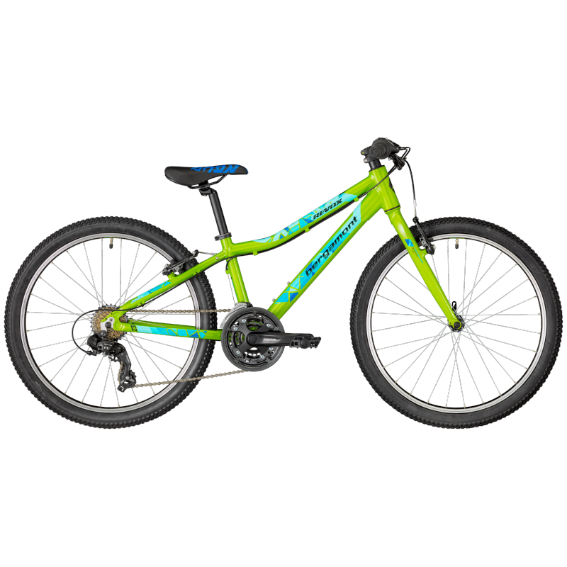 Bergamont Revox 24 lite Boy green/blue/black (shiny) 2018 24 Zoll | fah8372