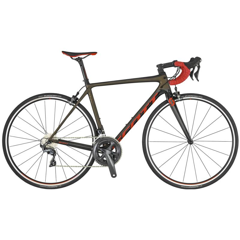Scott Addict RC 20 Bronze / Schwarz / Rot 2019