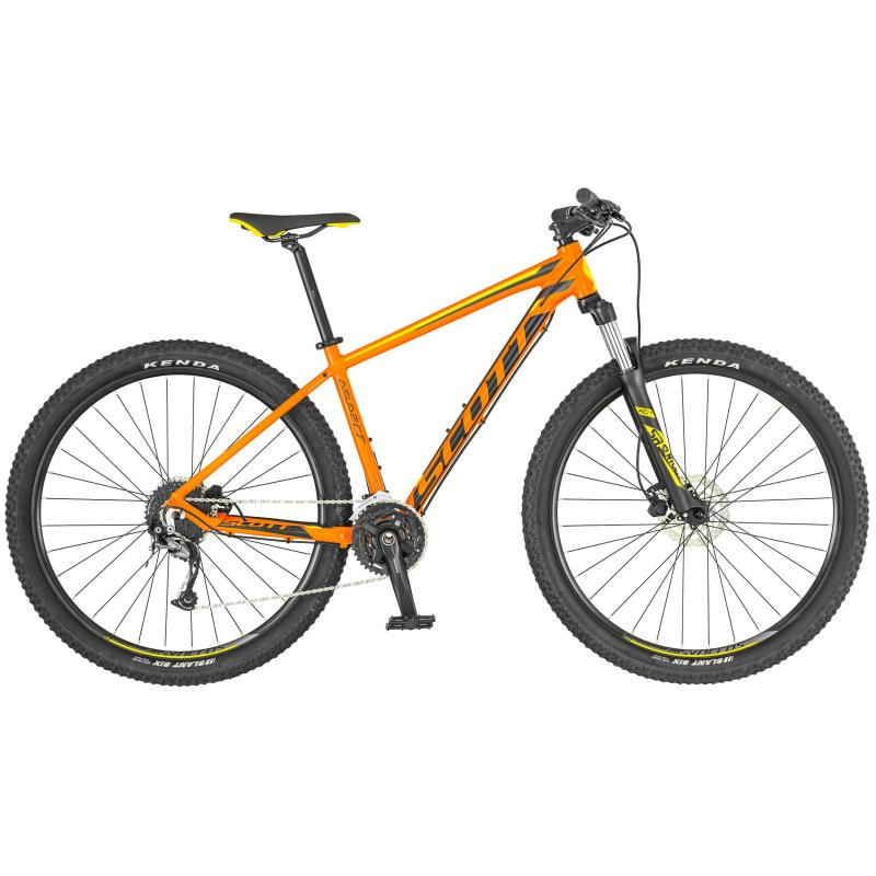 Scott Aspect 740 Orange / Schwarz / Gelb 2019