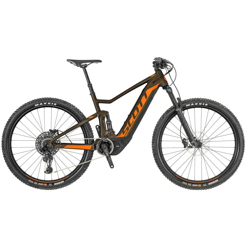 Scott Spark eRide 920 - 500 -  Bronze / Orange 2019