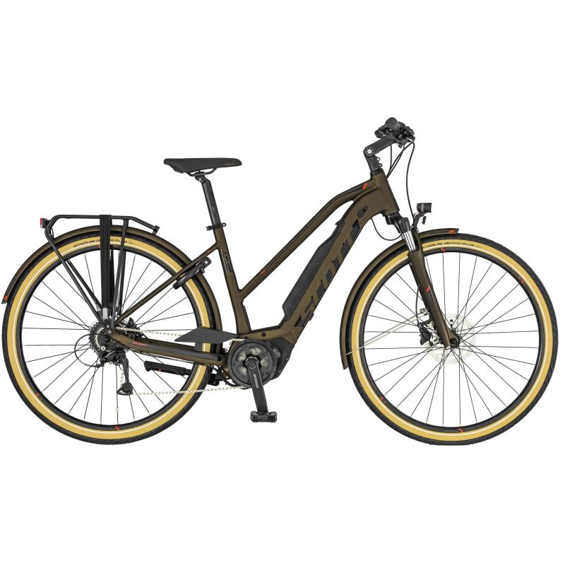 Scott Sub Active eRide - Lady 400 -  Bronze / Schwarz 2019