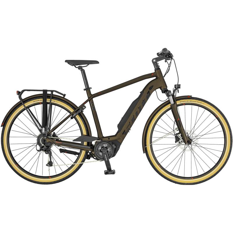 Scott Sub Active eRide - Men 400 -  Bronze / Schwarz 2019