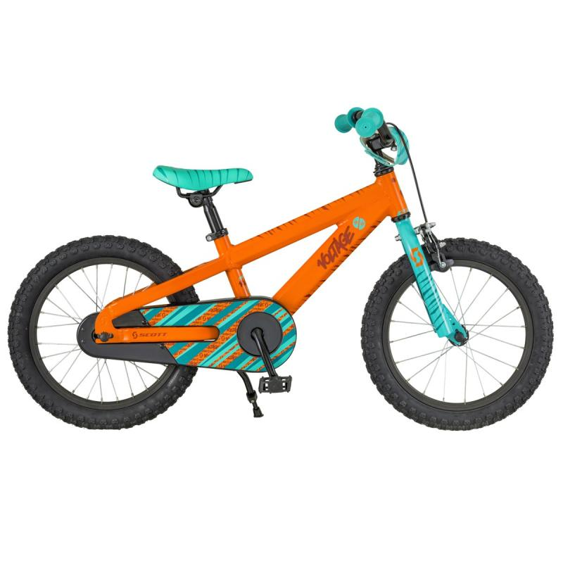 Scott Voltage JR 16 (KH) - 16 -  ORANGE / TURQUOISE 2018
