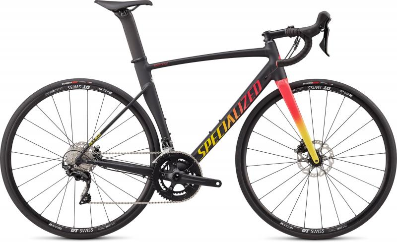 Specialized Allez Sprint Comp Disc Satin/Gloss Black/Golden Yellow_Vivid Pink Fade 2020 - 28 -