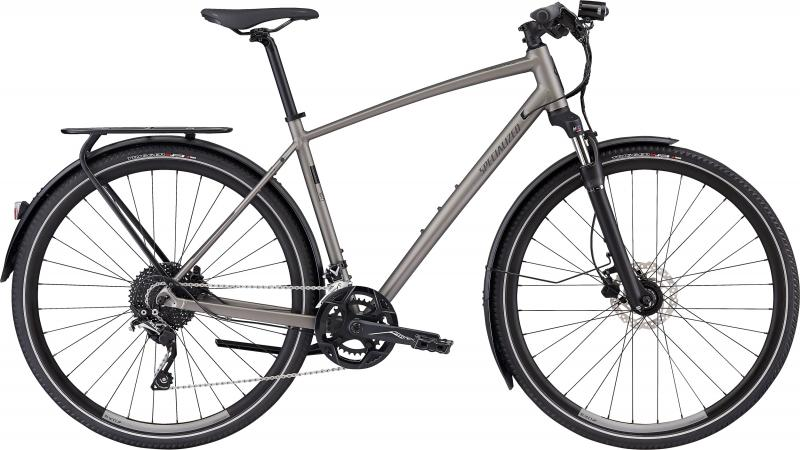 Specialized CrossTrail Elite EQ? Top Collection - 28 -  Satin Sterling Grey/Black 2019