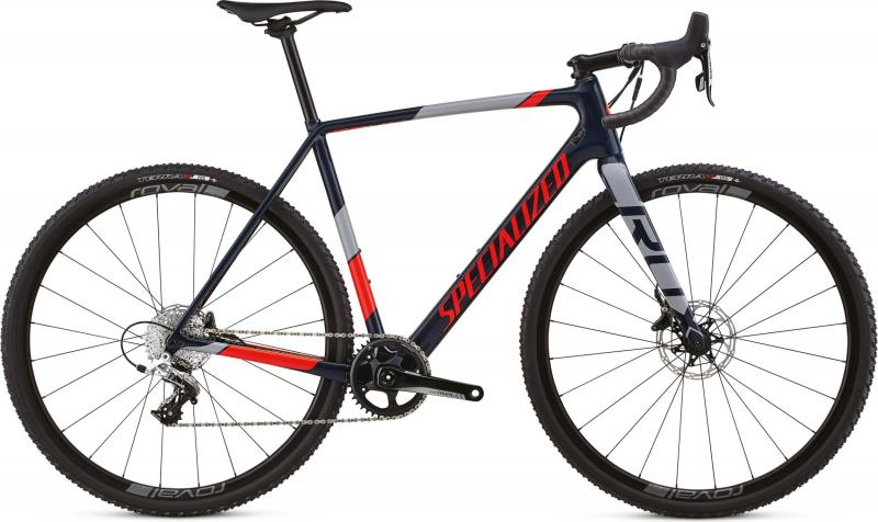 Specialized CruX Elite X1 - 28 -  Gloss Cast Blue/Rocket Red/Cool Gray 2019