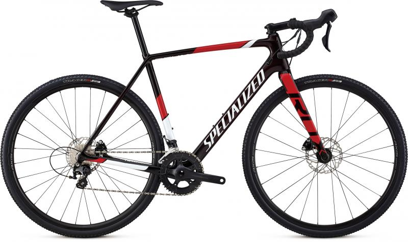 Specialized CruX Sport - 28 -  Gloss Red Tint/Metallic White Silver/Flo Red 2019