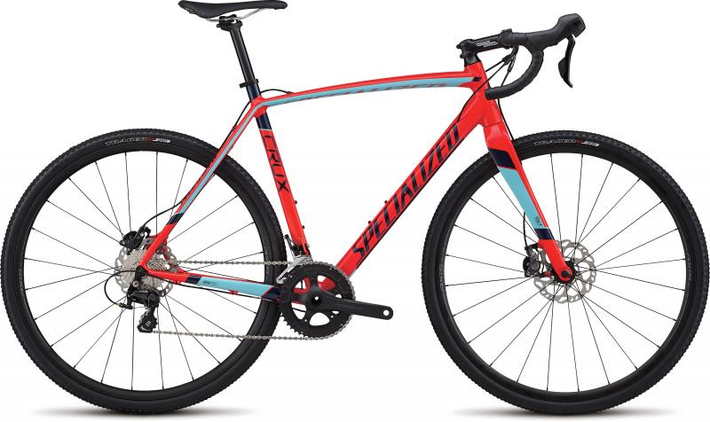 Specialized CruX Sport E5 - 28 -  Gloss Rocket Red/Light Blue/Navy 2019