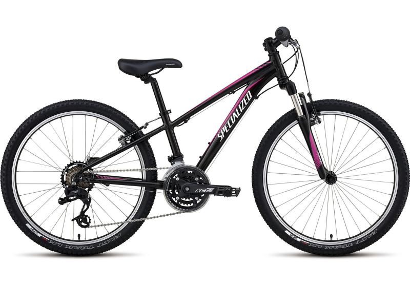 Specialized Girl's Hotrock 24 XC Black/Hot Pink 2017