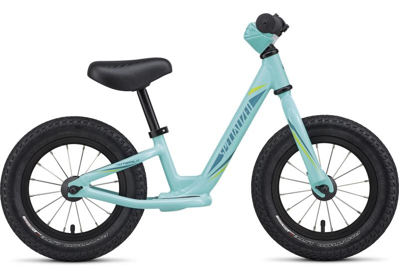 Specialized Girl's Hotwalk Turquoise/Light Turquoise/Hyper Green 2018 11