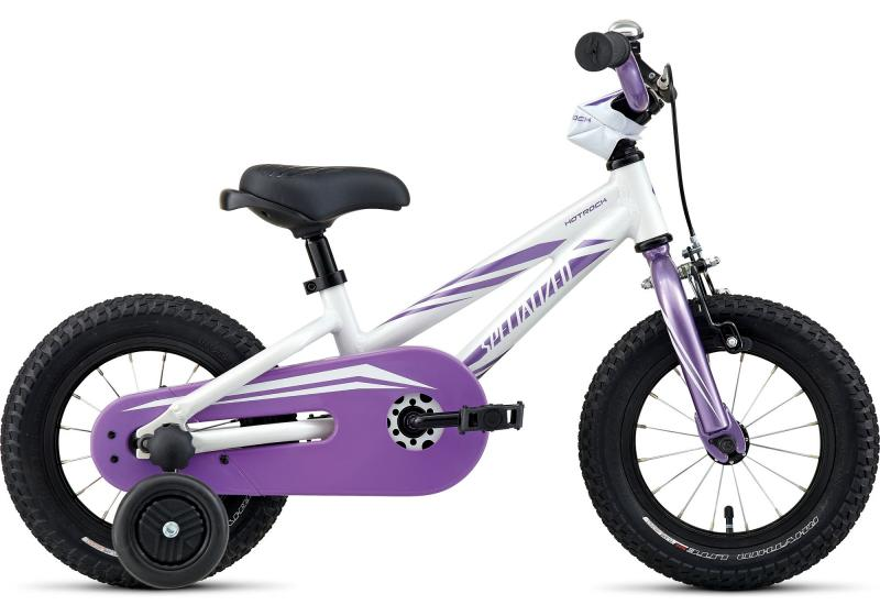 Specialized Hotrock 12 Coaster Girls Hotrock 12 Girls White/Purple 2017