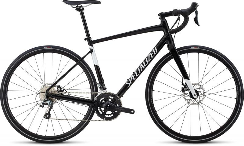 Specialized Men's Diverge E5 Elite - 28 -  Gloss Tarmac Black/Metallic White Silver 2019