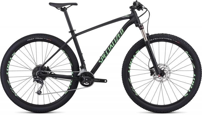 Specialized Men's Rockhopper Expert - 29 -  Gloss Black/Acid Kiwi/Charcoal 2019