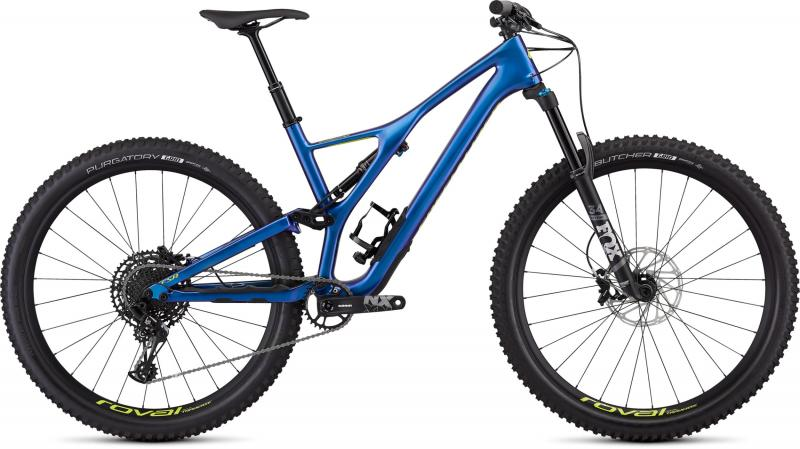 Specialized Men's Stumpjumper Comp Carbon 29 - 12-speed - 29 -  Gloss Chameleon / Hyper 2019