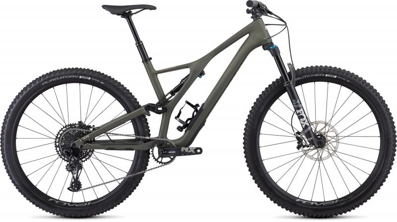 Specialized Men's Stumpjumper ST Comp Carbon 29 - 12-speed - 29 -  Satin / Oak / East Sierras 2019