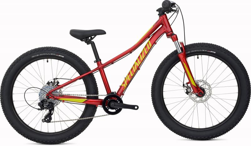 Specialized Riprock 24 - 24 -  Candy Red/Hyper Green/Black 2019