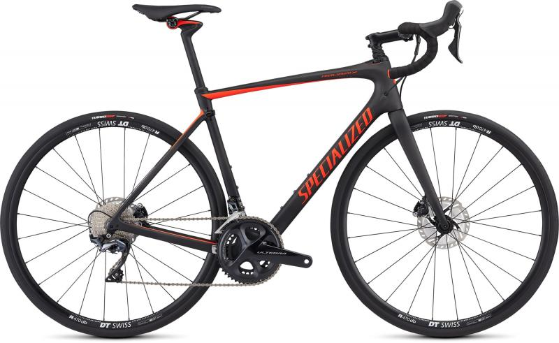 Specialized Roubaix Comp - 28 -  Satin Carbon /Rocket Red 2019