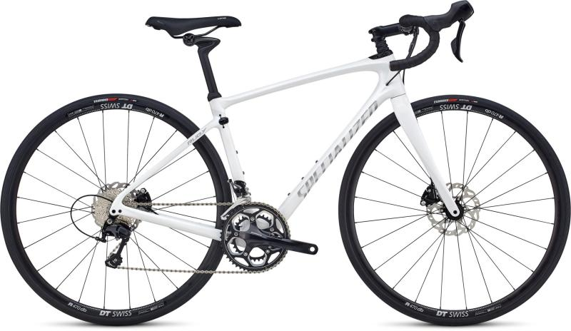 Specialized Ruby Elite - 28 -  Gloss Cosmic Flake White/Flake Silver 2019
