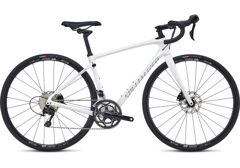 Specialized Ruby Elite Gloss Cosmic Flake White/Flake Silver 2018