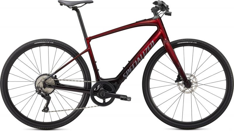 Specialized Vado SL 4.0 Crimson Red Tint / Black Reflective  2021 - 320Wh 28