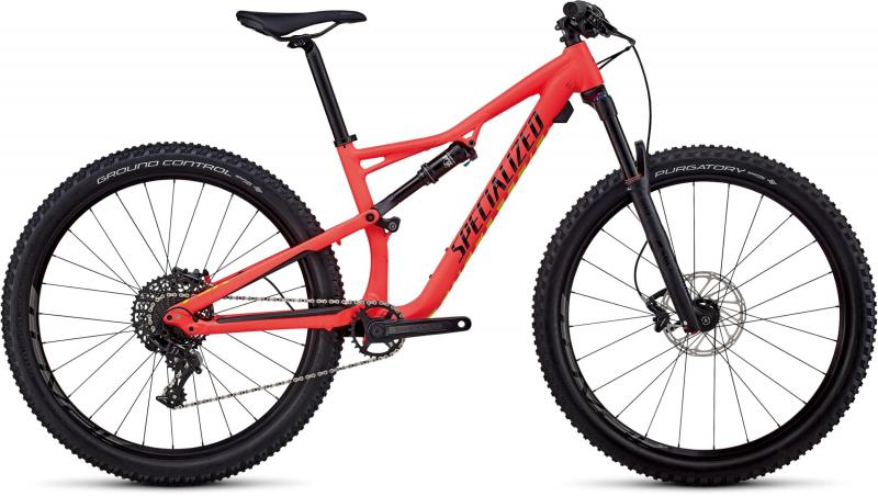 Specialized Women's Camber Comp 27.5 - 27.5 -  Satin Gloss Acid Red/Limon/Black 2019