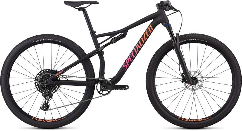 Specialized Women's Epic Comp Alloy - 29 -  Satin Gloss Black/Acid Lava/Acid Purple 2019