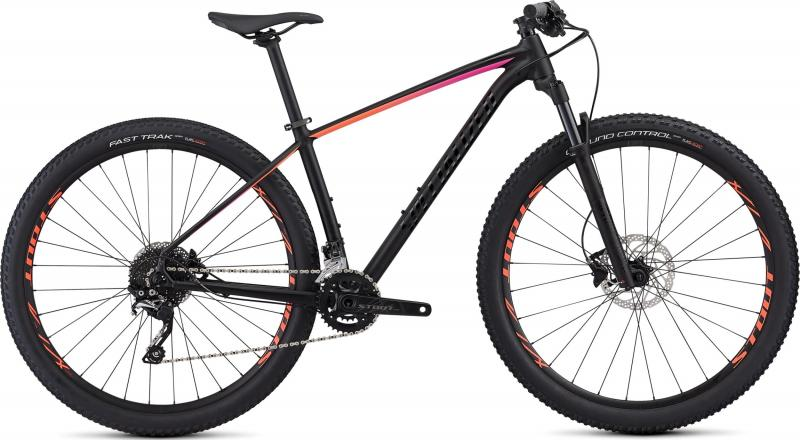 Specialized Women's Rockhopper Pro - 29 -  Satin Gloss Black/Acid Purple/Acid Lava 2019
