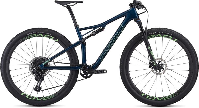 Specialized Women's S-Works Epic - 29 -  Satin Gloss Chameleon Flake/Acid Kiwi 2019