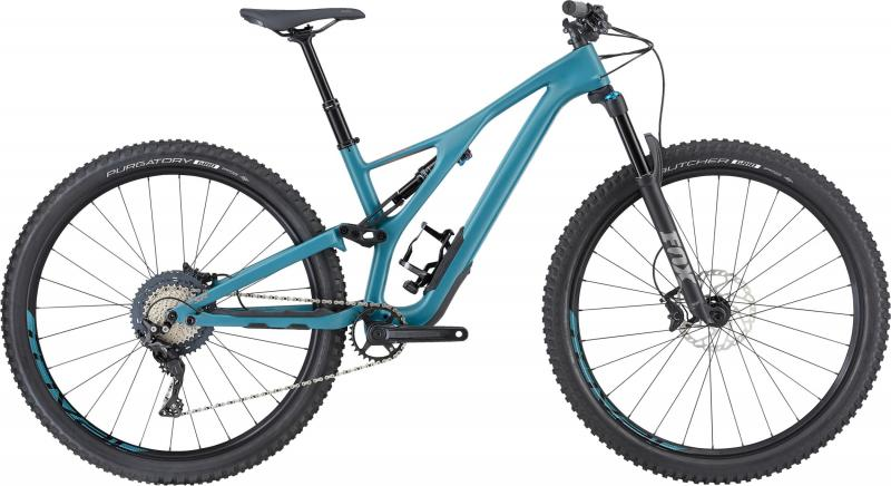Specialized Women's Stumpjumper ST Comp Carbon 29 - 29 -  Satin/Dusty Turquoise/Copper 2019