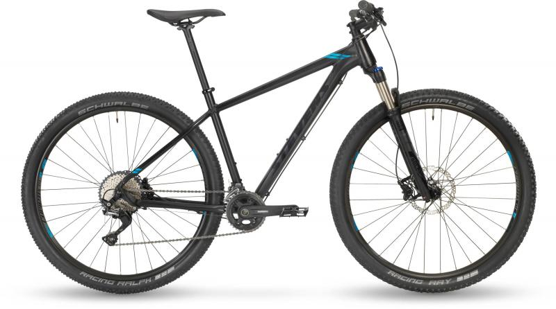 Stevens Devil´s Trail - 27.5 -  Stealth Black 2019