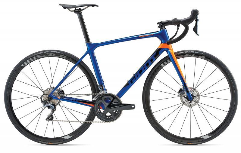 Giant TCR Advanced Pro 1 Disc Electric Blue 2018 - 28 -