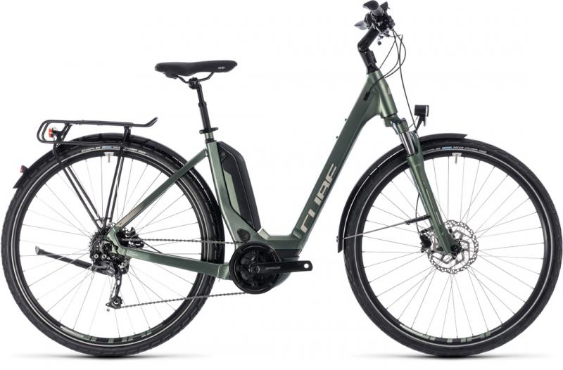 Cube Touring Hybrid ONE 400 frostgreen´n´silver 2018 - Easy Entry 28 -