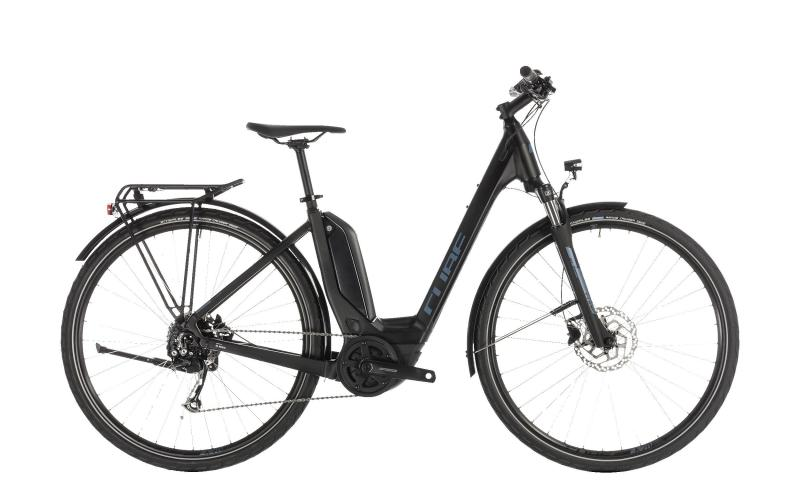 Cube Touring Hybrid ONE 500 black´n´blue 2019 - Easy Entry 28 -