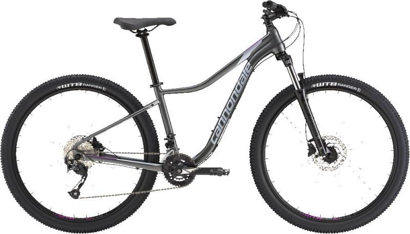 Cannondale Trail 4 GRY Charcoal w/ Stingray and Deep Purple - Gloss